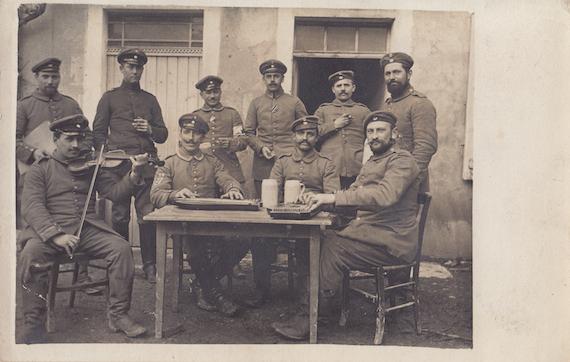 World War I Era Postcards Zither Us